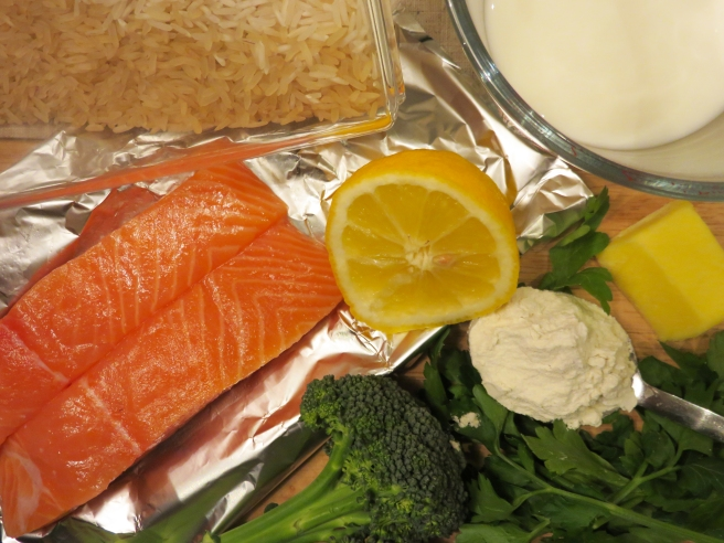 Salmon pregnancy recipe