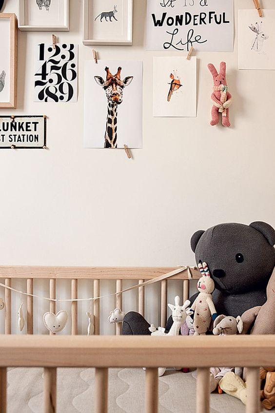 cream nursery decor artwork