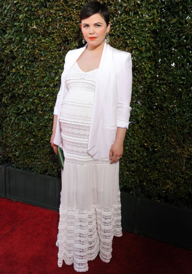 Ginnifer Goodwin Maternity dress