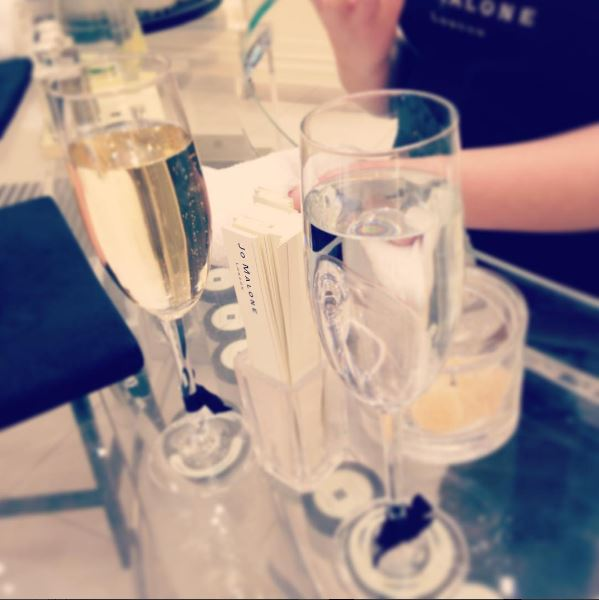 A Jo Malone drink for the bride-to-be and Mum-to-be. Guess who's is who's.