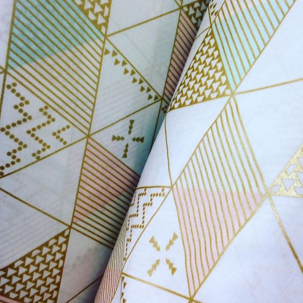 Michael Miller Triangle Fabric
