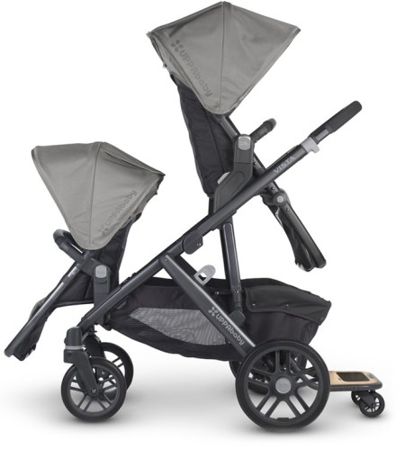 The Uppababy Vista. Pick your favourite, and have that one face you.