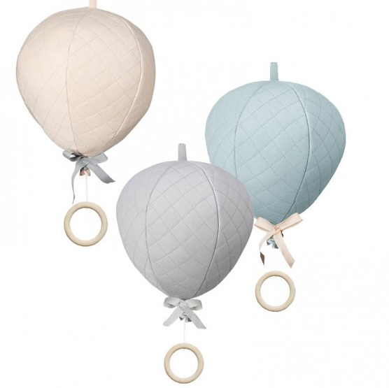 Fox and Wilder Hot Air balloon mobile