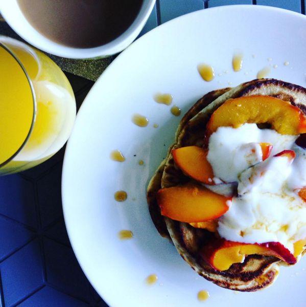 pancakes-peach
